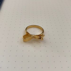 Kate Spade ♠️ Gold Bow Ring